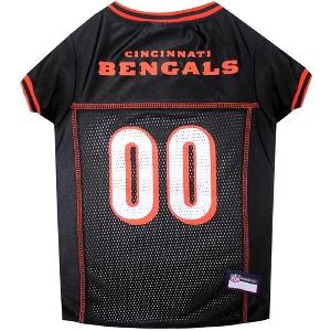 Cincinnati Bengals Mesh Pet Jersey