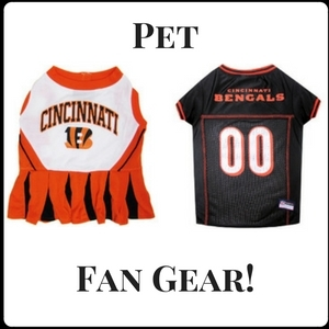 Save Up To 25% On Bengals Pet Gear!