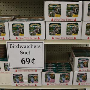 $.69 Bird Watcher Suet Cakes