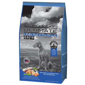 Hi-Standard Ultimate Chicken Meal & Rice Formula 28lb