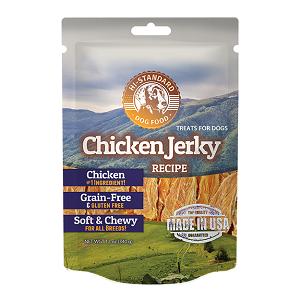Hi-Standard Grain Free Chicken Jerky Dog Treats 12oz