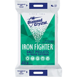 Diamond Crystal Iron Fighter Water Softener Salt Pellets