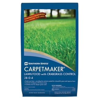 Southern States® Carpetmaker® Lawn Food with Crabgrass Control 28-0-4