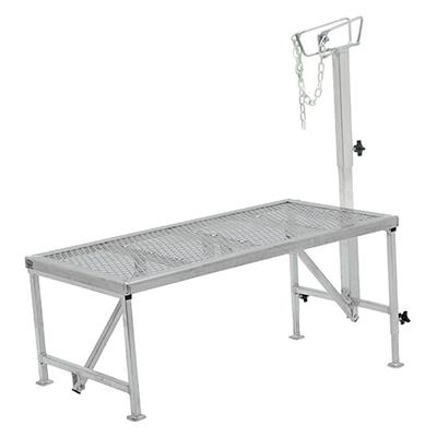 Aluminum Trimming Stand with Adjustable Headpiece