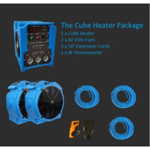 The Cube Bed Bug Heater Package