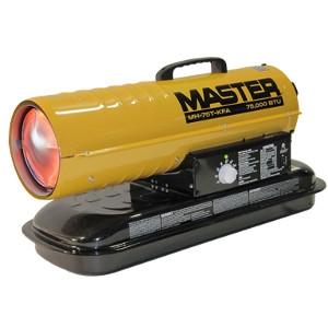 Desa TechMaster75,000 BTU Kerosene/Diesel Forced Air Torpedo Heater