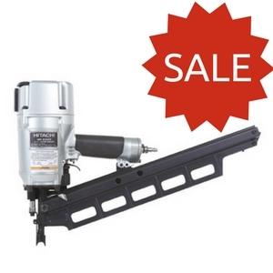 Hitachi Framing Nailer NR83A3 Only $299!