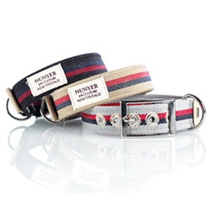 Hunter Textile Dog Collar and Leashes