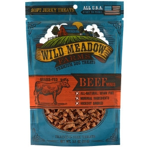 Wild Meadows Farms Beef Minis Dog Treats