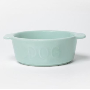 Waggo Too Hot Two Handle Dog Bowl