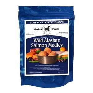 Market Fresh Meatballs Wild Alaskan Salmon Medley