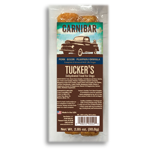 Tucker's Dehydrated Food Carnibar- Pork Bison Pumpkin Formula