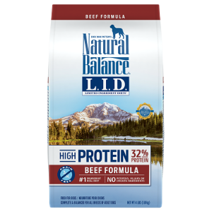 L.I.D. Limited Ingredient Diets® High Protein Beef Formula Dry Dog Food