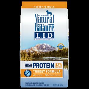 L.I.D. Limited Ingredient Diets® High Protein Turkey Formula Dry Dog Food