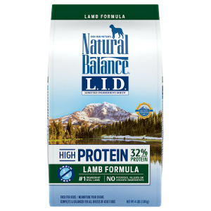 L.I.D. Limited Ingredient Diets® High Protein Lamb Formula Dry Dog Food