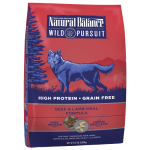 Wild Pursuit™ Beef & Lamb Meal Dry Dog Formula