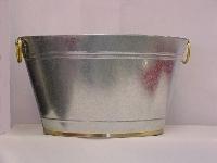 Bucket, Ice Galvanized