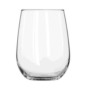 Glass- Wine Stemless 17 oz.
