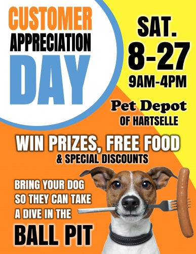 Customer Appreciation Day!