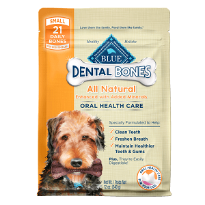 BLUE Dental Bones® Small Size (for dogs 15-25 lbs.)