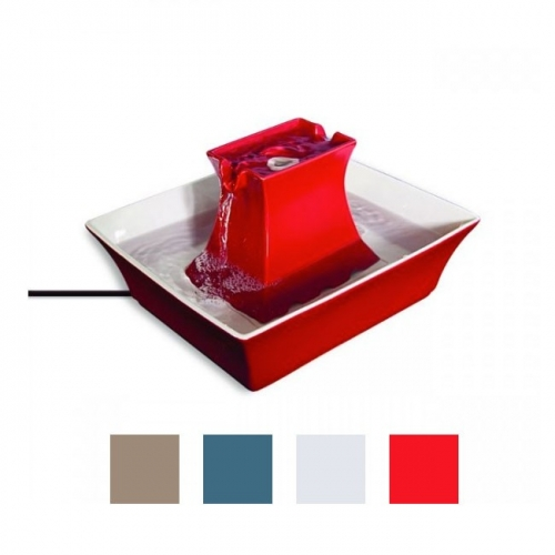Drinkwell Red Pagoda Pet Fountain