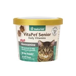 NaturVetVitaPet™ Senior Daily Vitamins Cat Soft Chews