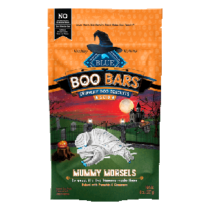 BLUE Boo Bars Pumpkin & Cinnamon Natural Mini Dog Biscuits