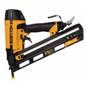 15-Gauge Oil-Free Angled Finish Nailer Kit