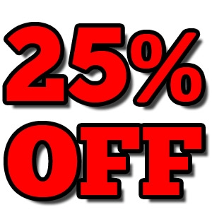 25% Off Select Power Tools