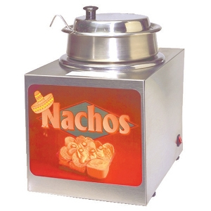 Nacho Cheese Warmer with Dipper