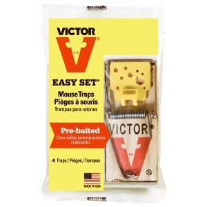 Victor 4-Pack Mouse Traps