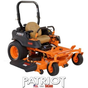 The Scag Patriot Zero- Turn Lawn Mower