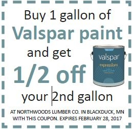 New Paint Desk Savings On Valspar