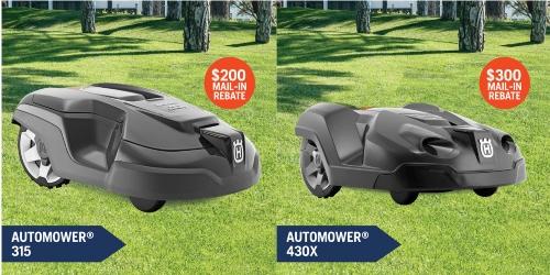 Husqvarna Automower® Rebates