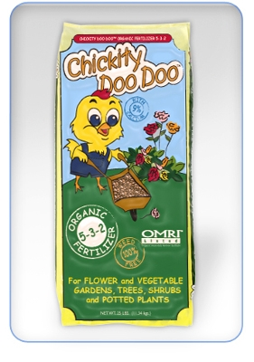 Chickity DooDoo Organic Fertilizer, 25lb.