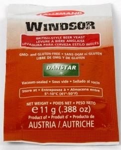 YEAST DANSTAR WINDSOR ALE 11G