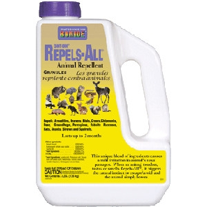 Bonide Shot-Gun Repels-All Animal Repellent Granules, 3lbs