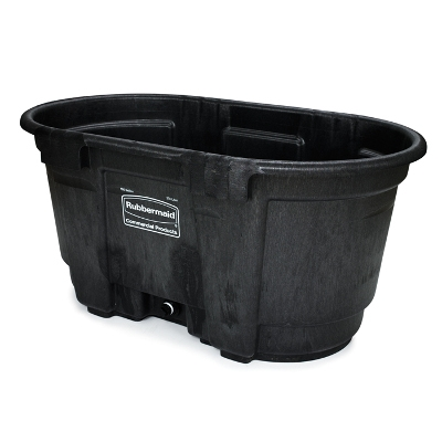 Rubbermaid Poly Stock Tank, 100 Gallons