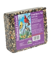 Feathered Friend Fruit Berry Nut Seed Cake, 2 lbs.