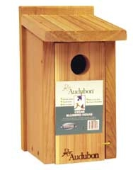 Audubon Cedar Bluebird House