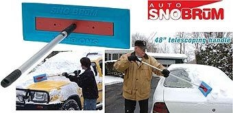 Auto Snobrum with Telescoping Handle, 48 inches