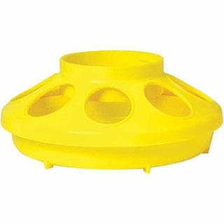 Little Giant Yellow Plastic Feeder Base