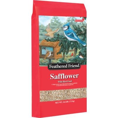 Feathered Friend Safflower Wild Bird Food, 16lb