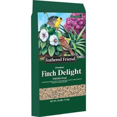 Feathered Friend Finch Delight Bird Food, 16 lbs.