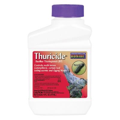 Bonide Thuricide Bacillus Thuringiensis Concentrate, 1pt