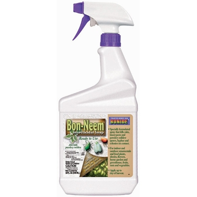 Bonide Bon-Neem Insecticidal Soap Spray, 1 quart