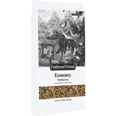 Feathered Friend Economy Bird Seed Mix, 30 lbs.