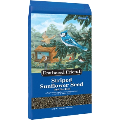 Grey Stripe Sunflower Food, 40 lbs - $28.88