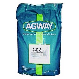Agway 5-10-5 Garden Fertilizer, 50 lbs.