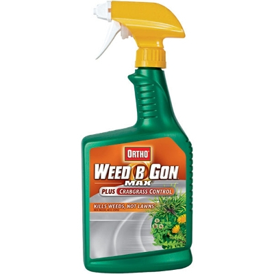 Ortho Weed-B-Gon Max Plus Crabgrass Control Spray 24oz